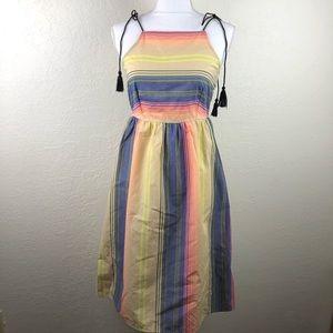 NWT ASOS Petite Colorful Keyhole Dress Size 6 B5